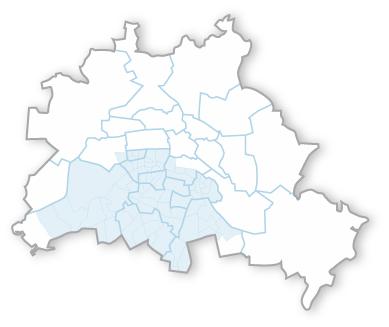 Stadtplan Berlin Winterdienst
