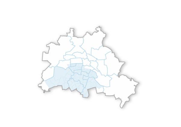 Übersicht Bezirke Schneedienst Berlin