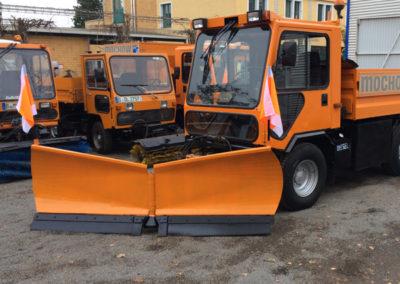 fahrzeuge für winterdienst und schneebeseitigung